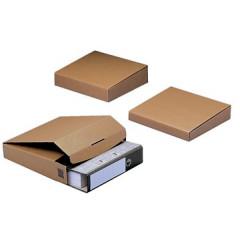 Verzenddoos ordners Colompac 325x288x50mm bruin