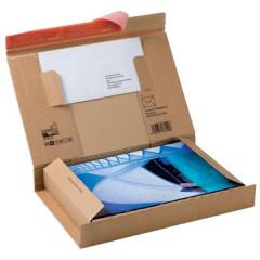 Verzenddoos tablet Colompac 300x212x43mm bruin