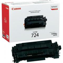Toner Canon Mono Laser CRG-724H i-SENSYS LBP6750dn 12.500 pag. BK (3482B002)