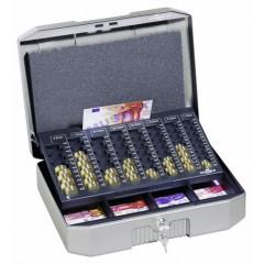 Geldkoffer Durable Euroboxx antraciet/grijs (D178257)