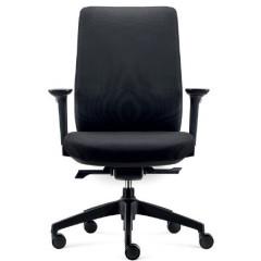 Bureaustoel Dallas zwart