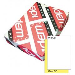 Idem digital A5 90gr 2-voud NCR wit-geel