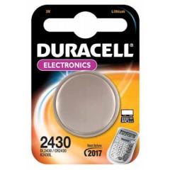 Knoopcelbatterij Duracell CR2430 3V