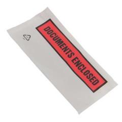 tenzalopes zelfklevend documentenmapje 'Documents enclosed' , ft 110x220mm (1000)