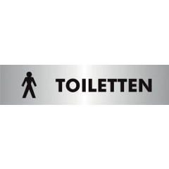 Pictogram Stewart Superior zelfklevend heren toiletten