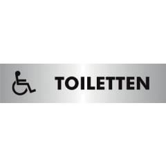 Pictogram Stewart Superior zelfklevend toiletten voor andersvaliden