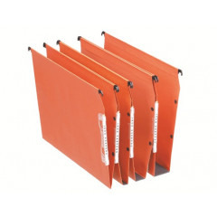 Hangmap Esselte Orgarex Dual Visicontrol karton A4 330mm 50mm bodem kast oranje (25)(2211100)