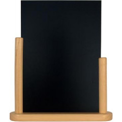 Securit tafelkrijtbord Elegant, Ft 32x28 cm, berk