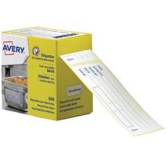 Etiket Avery 98x40mm voor voedingscodering wit (300)