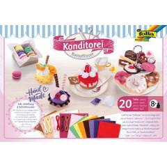 Vilt Folia Craft Kit Patisserie 20-delig