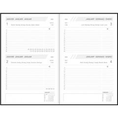 Agenda Aurora Folio FA111 Balacron 140x210mm assorti 2022 2 dagen/pagina