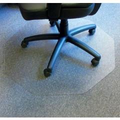 Vloermat Floortex Cleartex Chairmat 9-hoek met antislip ondergrond 98x98cm