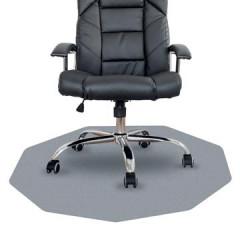 Vloermat Floortex Cleartex Chairmat 9-hoek voor harde en solide oppervlakken 98x98cm