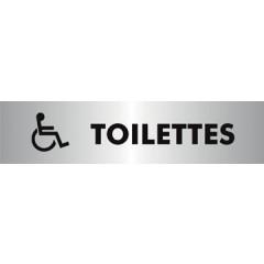 Pictogram Stewart Superior zelfklevend toilettes pour handicapés