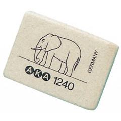Gom Aka olifant groot wit (40)