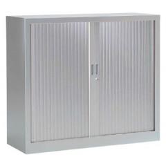Roldeurkast H: 136x120x43cm (hxbxd) aluminium