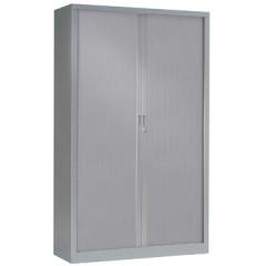 Roldeurkast H: 198x120x43cm (hxbxd) aluminium
