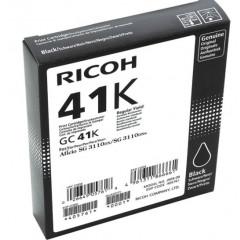 Cartridge Ricoh Inkjet GC41 Aficio SG 3100SNw 2.400 pag. BK (405761)