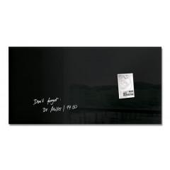 Magnetisch glasbord Sigel 91x46cm zwart