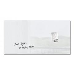 Magnetisch glasbord Sigel 91x46cm wit