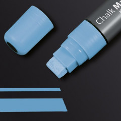Krijtmarker Sigel 150 beitelpunt 5-15mm blauw