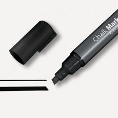 Krijtmarker Sigel 50 beitelpunt 1-5mm zwart