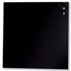 Glasbord Naga magnetisch 35x35cm zwart