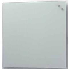 Glasbord Naga magnetisch 45x45cm wit