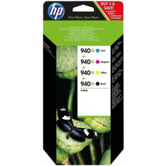 Cartridge HP Inkjet 940XL OfficeJet Pro 8500 2.200 pag./1.400 pag. VALUE PACK BK/C/M/Y