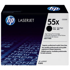 Toner HP Mono Laser 55X LaserJet Enterprise MFP M525dn 12.500 pag. BK