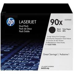 Toner HP Mono Laser 90X DUO LaserJet Enterprise 600 M601dn 2x24.000 pag. BK