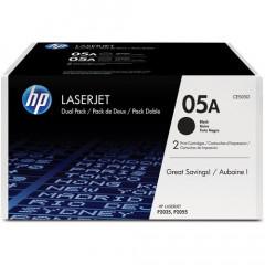 Toner HP Mono Laser 05A DUO LaserJet P2033 2x2.300 pag. BK