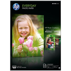 HP fotopapier everyday semi-glossy A4 200GR (100)