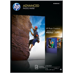 HP fotopapier glossy inkjt A4 250G (25)