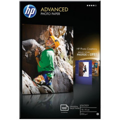HP fotopapier advenced glossy 10X15 250GR (100)
