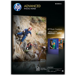 HP fotopapier advenced glossy A4 250GR (50)