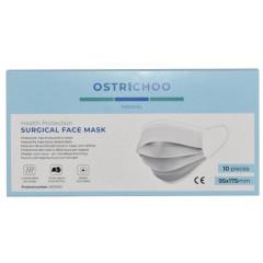 Chirurgisch mondmasker IIR 3-laags met CE certificaat (10)