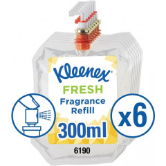 Navulling Kimberly Clark Fresh voor luchtverfrisser Aquarius 300ml (6)