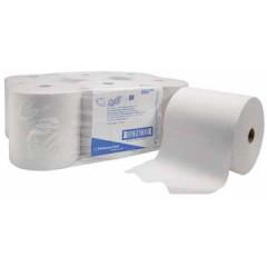 Scott papieren handdoekrol, 1-laags, 304 meter,  wit (6)
