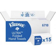 Handdoek Kleenex Ultra Super Soft Z-vouw 3-laags 96 vel (15)