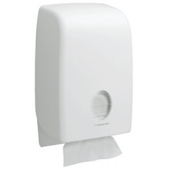 Handdoekdispenser Kimberly Clark Aquarius Interfold wit