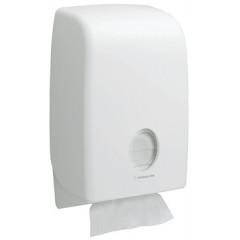 Handdoekdispenser Kimberly Clark Aquarius Interfold wit