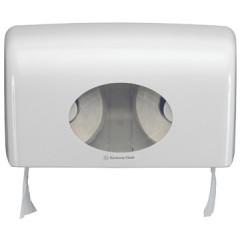 Toiletpapierdispenser Kimberly Clark Aquarius kleine rol wit
