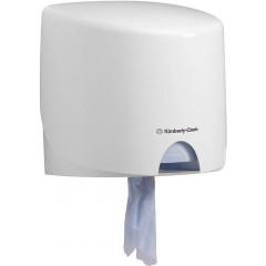 Handdoekdispenser Kimberly Clark Aquarius rolcontrole wit