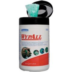 Reinigingsdoek Kimberly Clark Wypall vochtig 27x27cm groen/wit (50)