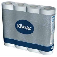Toiletpapier Kleenex 2-laags kleine rol wit (12)