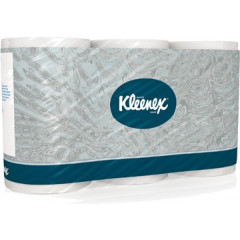 Toiletpapier Kleenex 3-laags wit (6)