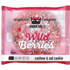 Koekje Kookie Cat Wild Berries 50g (12) VEGAN