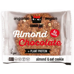 Koekje Kookie Cat Almond Chocolate 50g (12) VEGAN