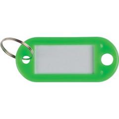 Sleutelhanger Q-Connect groen (10)